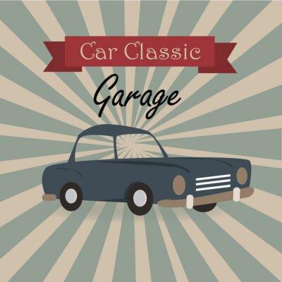 Naklejka car classic