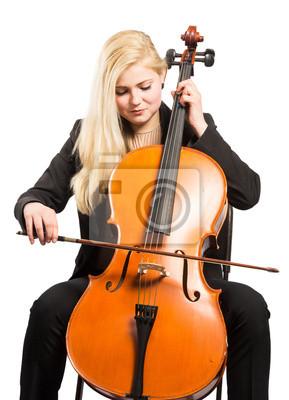 Naklejka Cellistin