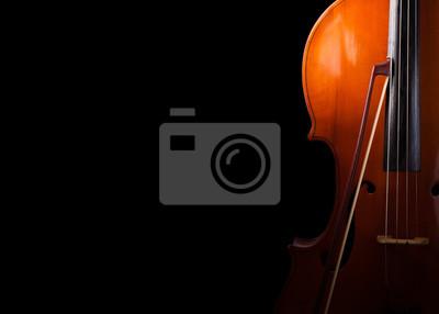 Naklejka Cello bliska