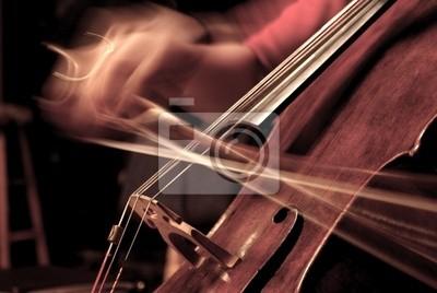 Naklejka Cello odtwarzanych