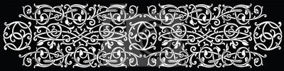 Naklejka Celtic pattern ornament decoration design element.