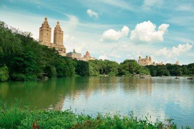Naklejka Central Park Wiosna