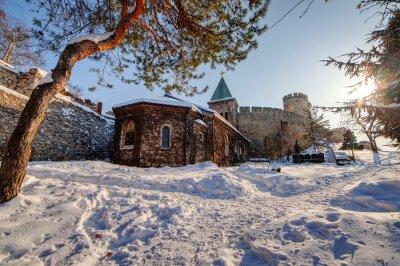 Cerkiew pod śniegiem