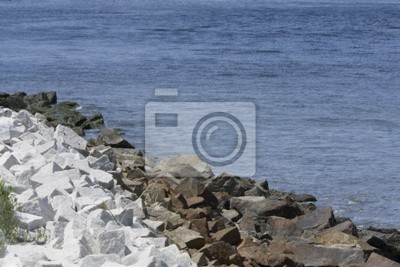 chanel kamiennej opaski brzegowej