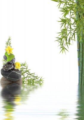 Naklejka charakter koncepcji détente, bien-être, relaks