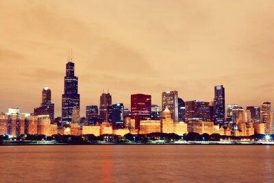Naklejka Chicago