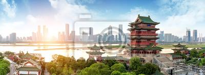 Naklejka Chińska architektura klasyczna