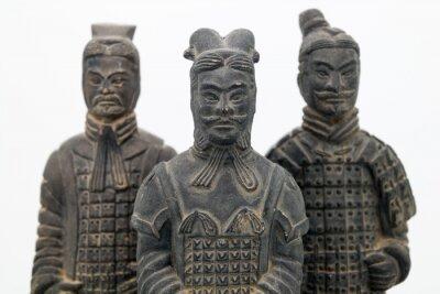 Naklejka Chińska Armia Terakotowa Figurki - krajobraz