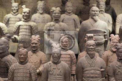 Naklejka Chińska Armia Terakotowa - Xian