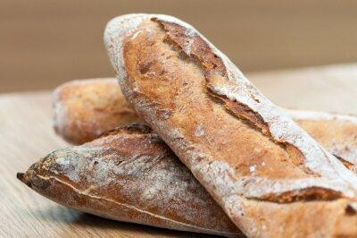 Naklejka Chleb-francuski bagietki