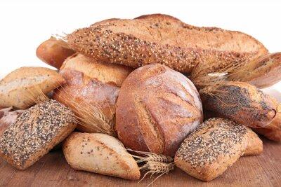 Naklejka chleb mieszany