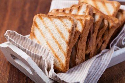 Naklejka chleb tostowy
