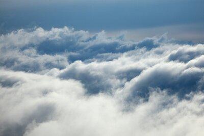 Naklejka chmury