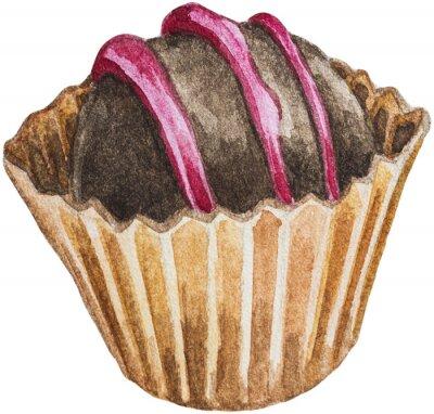 Naklejka Chocolate Bon Bon