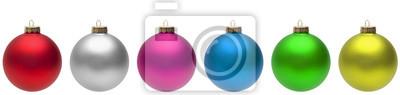 Naklejka Christmas Balls