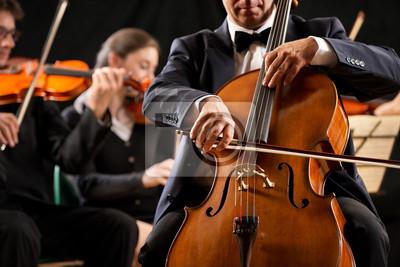 Naklejka Ciąg orkiestra