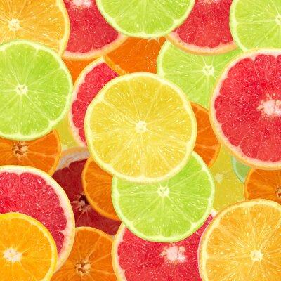 Naklejka citrous tle