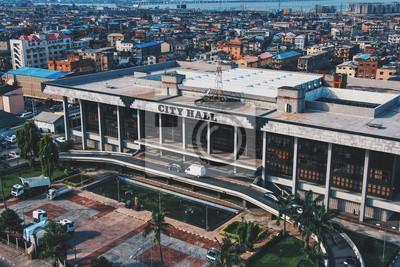 Naklejka Cityhall - Lagos