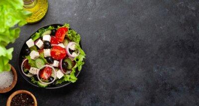 Naklejka Classic greek salad