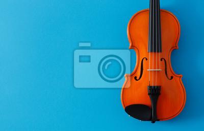 Naklejka Classical music festival poster violin