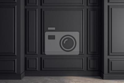 Naklejka Clean classical interior with copyspace