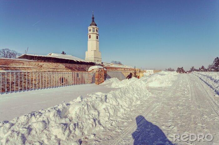 Naklejka Clock on the tower