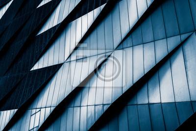 Naklejka Close-up nowoczesnych biurowców, Szanghaj, Chiny.