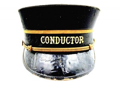 Naklejka Close-up Of Conductor Hat