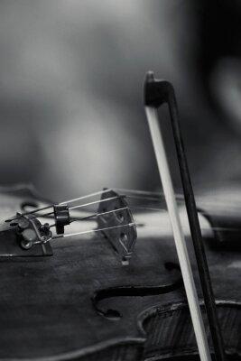 Naklejka Close-Up Of Violin