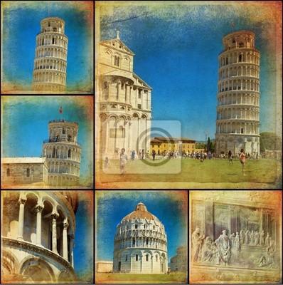Collage - Pisa, Toskania - Włochy
