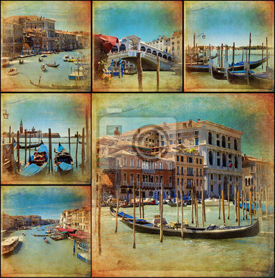 Collage - Wenecja - Venise - Venezia