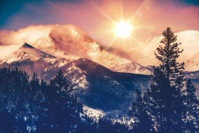 Naklejka Colorado Mountains Vista