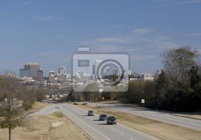 Naklejka Columbia South Carolina skyline