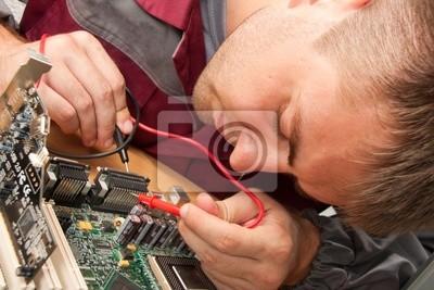 Naklejka Computer support engineer