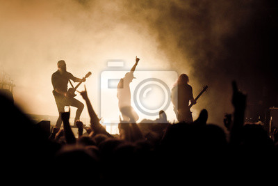 Naklejka concert_rock musique pokaz na żywo