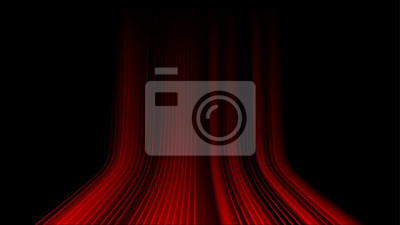 Naklejka Connection red speed line abstract background