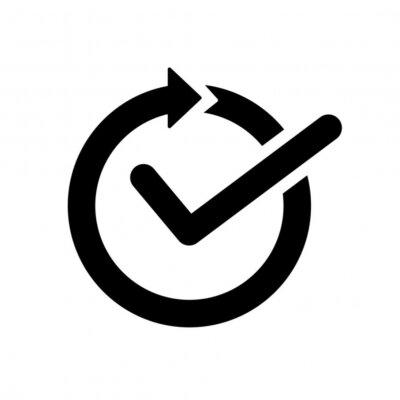 Naklejka continuous convenience simple icon