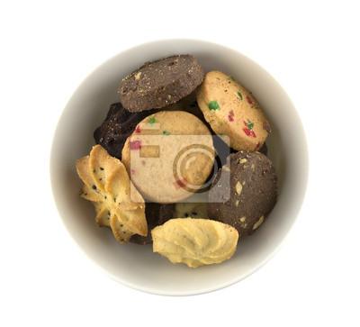 Naklejka Cookies w misce