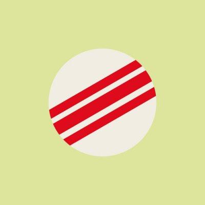 Croquet ball. Ball. Croquet logo. Sport. Vector illustration. EPS 10.