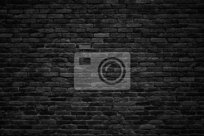 Naklejka czarny mur, ciemne tło dla projektu