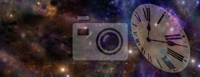 Naklejka Czas i przestrzeń WWW Banner
