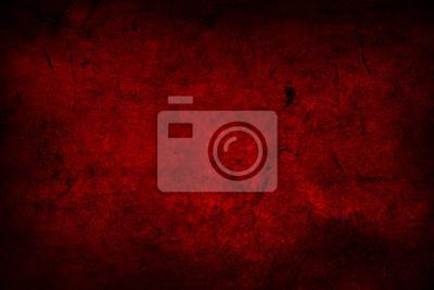 Naklejka Czerwone ściany