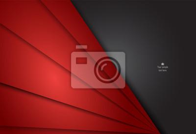 Czerwony i czarny abstrakcyjne projektowania materiałów dla tła