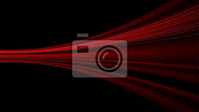 Naklejka czerwony prędkość streszczenie technologia tło