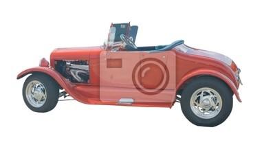 Czerwony roadster