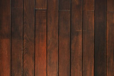 Naklejka Dark brown wood texture with natural striped pattern for background, wooden surface for add text or design decoration art work