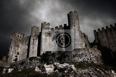 Naklejka Dark Castle