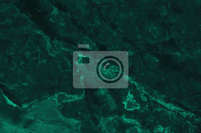 Naklejka Dark green marble texture background with high resolution, top view of natural tiles stone in luxury and seamless glitter pattern.