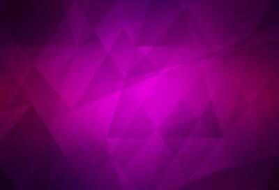 Naklejka Dark Purple vector polygon abstract backdrop.