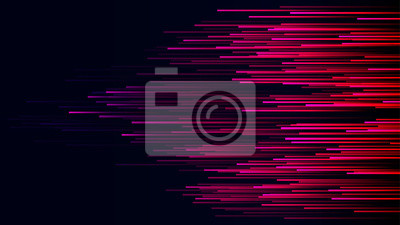 Naklejka Data connection speed lines technology abstract background